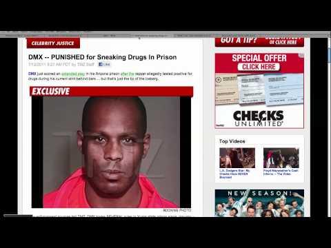 Rapper DMX Prison Trouble
