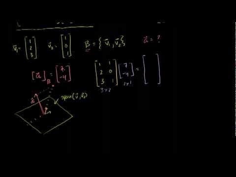 Saylor MA232: Change of Basis Matrix