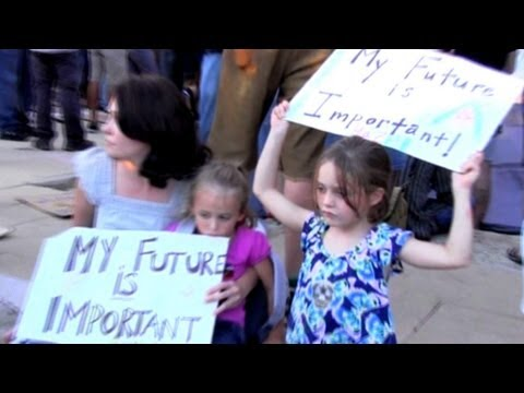Occupy Wall Street | Occupy Austin, Protestors at City Hall, Anonymous, Class Warfare & Greed