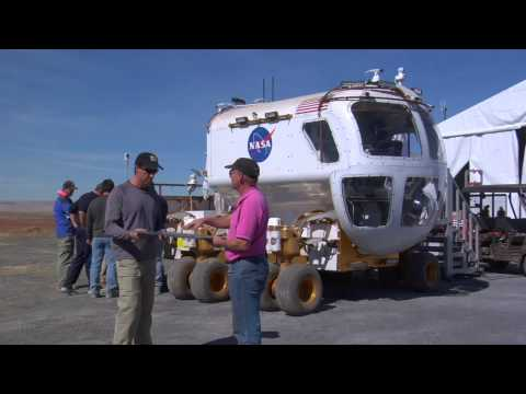 NASA EDGE: NE@SPR - Small Pressurized Rover