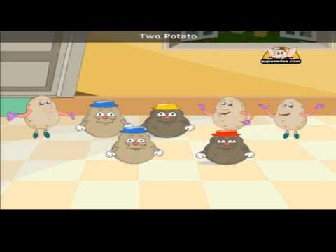 One Potato with Lyrics - Nursery Rhyme