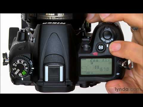 Nikon D7000 tutorial: Using the exposure compensation | lynda.com