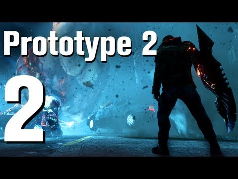 Prototype 2 Walkthrough Part 2 - Introduction [No Commentary / HD / Xbox 360]