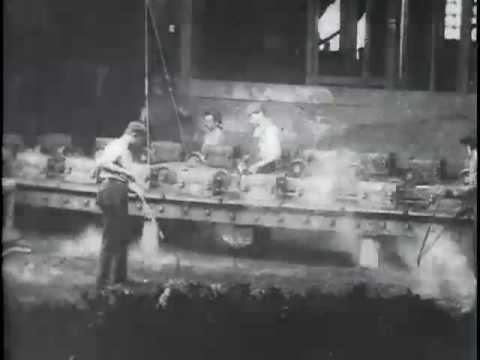 Westinghouse Air Brake Co, Westinghouse Co. Works (Casting Scene)