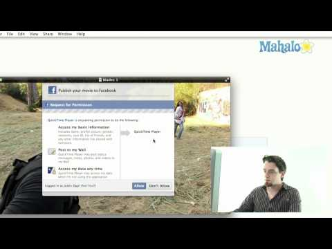 New Sharing Options for Quicktime - Mac OSX Lion