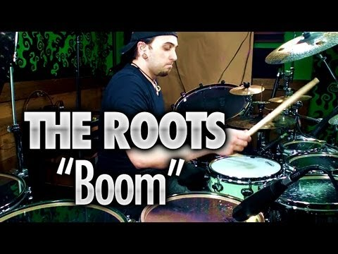 "The Roots ""Boom"" - Drum Cover / Solo by Aaron Edgar"