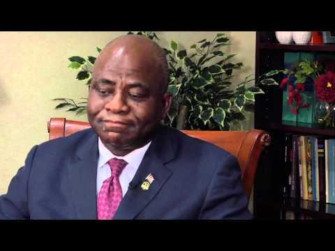Video Interview: Hon. Brownie Samukai, Minister of Defense, Liberia