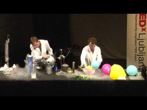 TEDxLjubljana - Guerilla Chimica - 22/5/2011