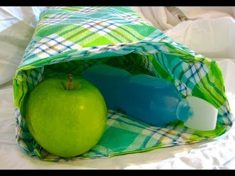 Tablecloth Lunch Bag