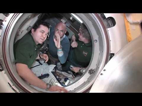 Station Hatch Closes on Expedition 26