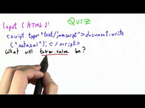 Token Value - CS262 Unit 6 - Udacity