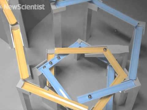 Simulated marble run