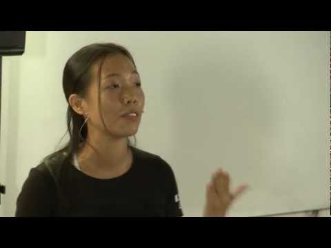 TEDxSingapore - Lila Evrard - Building a better world one Black Belt at a time
