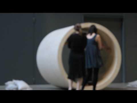 Robert Morris interactive installation at Tate Modern