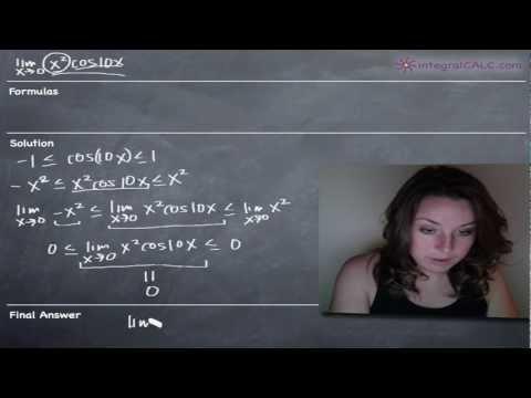 Squeeze Theorem Example 1