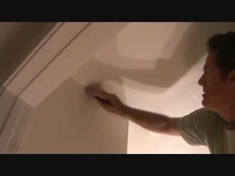 Painting a sheetrock patch