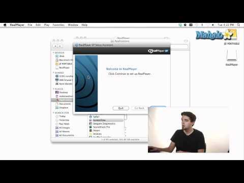 Using a Mac - Install a Program