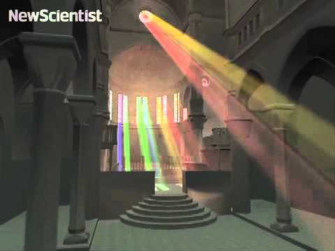 Shining light through a virtual forest