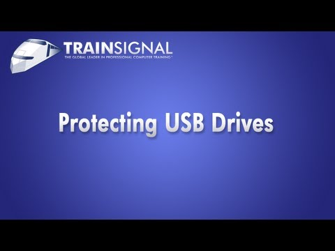 Protecting USB Drives