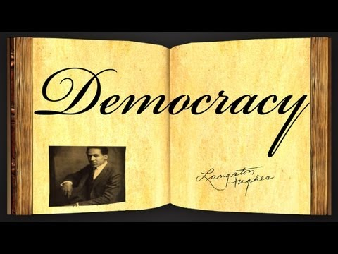 Pearls Of Wisdom - Democracy by Langston Hughes - Poetry Reading