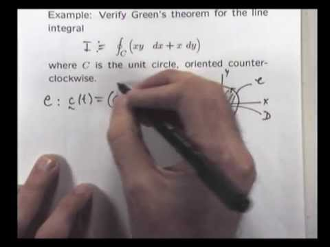 What is Green's theorem?