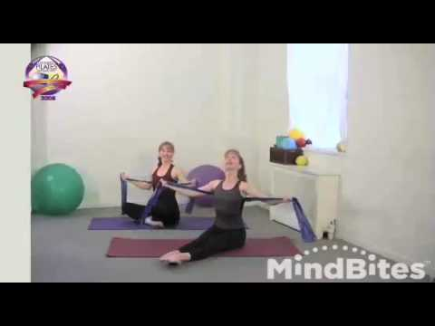 Pilates: Exercise Band-Stretch and Strengthen