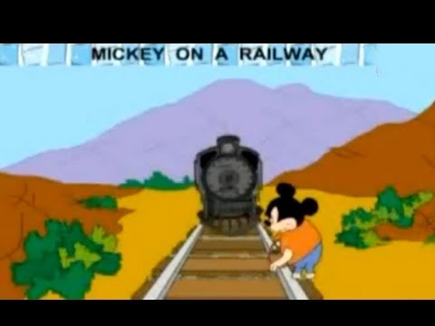 Nursery Rhyme - Mickey On a Railway - Creative Learning for Kids