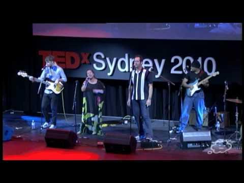 TEDxSydney - Mahalia Barnes + The Soul Mates Featuring Mr.Percival - Rockin Finish to TEDxSydney