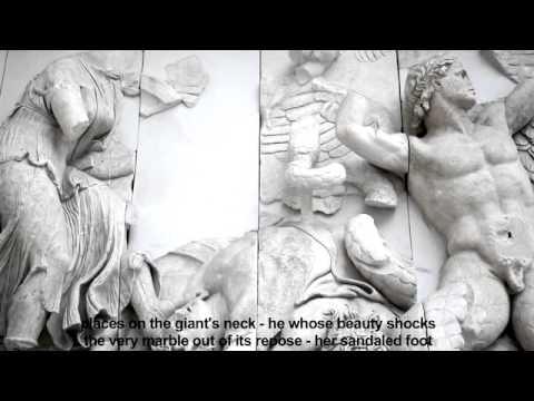 Pergamon Poems II: Aphrodite | Eva Meckbach, Gerhard Falkner, Pergamon Altar (English subtitles)