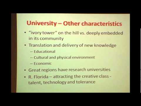 Universities -- Ivory Tower or Community Partner: William Pierce at TEDxUofL 2012