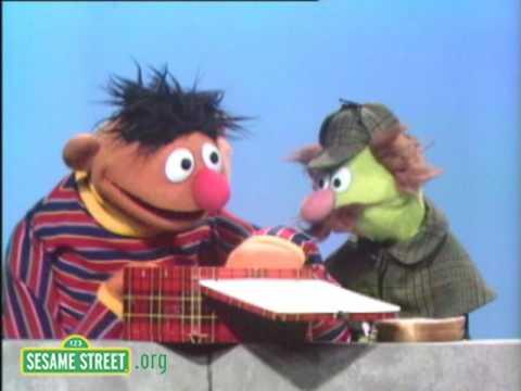 Sesame Street: Ernie's Half-Eaten Sandwich