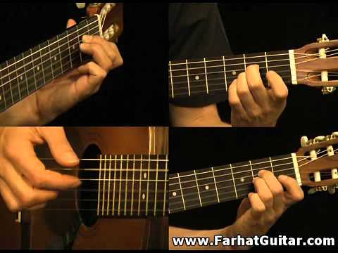 The unforgiven - Metallica Guitar Cover Part 1 FarhatGuitar.com