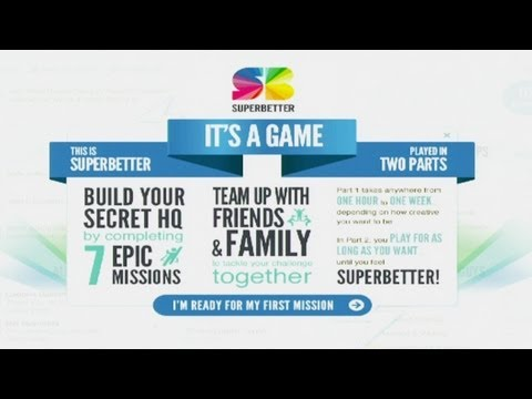 SuperBetter: Game Your Way to a Healthier Lifestyle