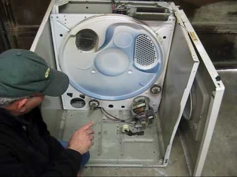 WHIRLPOOL DRYER REPAIR VIDEO 3