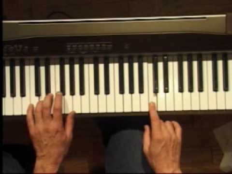 Piano Lesson - How to Play the C major scale (left hand)