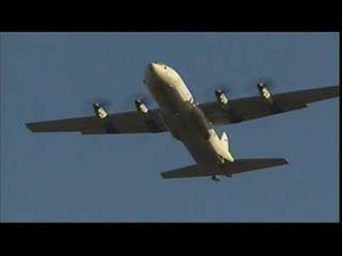RAAF - C130H - Cargo drop Royal Australian Air Force