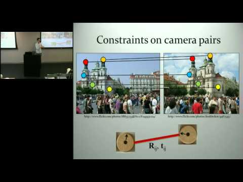 The Distributed Camera: Modeling the World from Online Photos