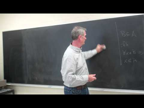 Topology: Lecture 1