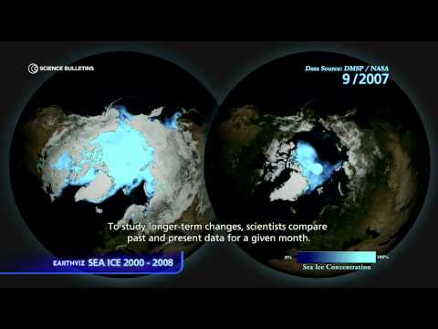 Science Bulletins: Sea Ice 2000 - 2008