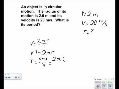 Uniform Circular Motion Presentation #16
