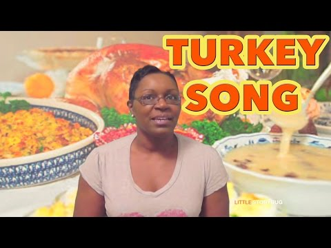 Thanksgiving songs for preschool - I'm Ready for Some Turkey! - Littlestorybug