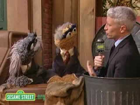 Sesame Street: Anderson Cooper Reports