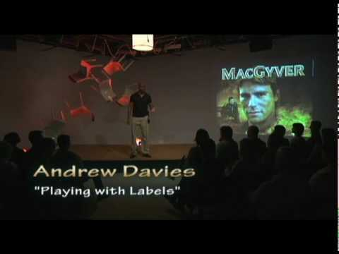 TEDxCreativeCoast - Andrew Davies - Playing With Labels
