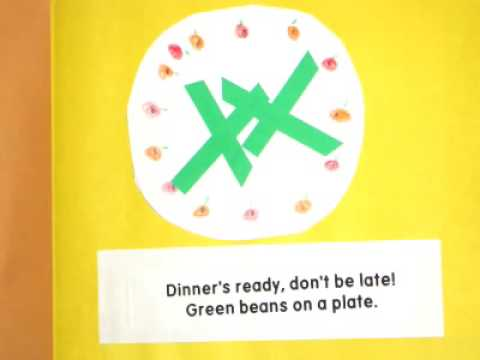 Thanksgiving Dinner's Ready - Classroom Book Project