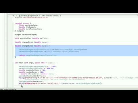 Objective-C Tutorial - Lesson 12: Function Prototypes