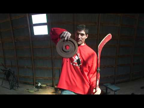 Pavel Datsyuk Stickhandling Tip - How To Make Your Own Weighted Hockey Stick