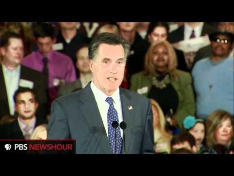 Watch Mitt Romney's Speech on Michigan Primary Win: 'We Won by Enough'