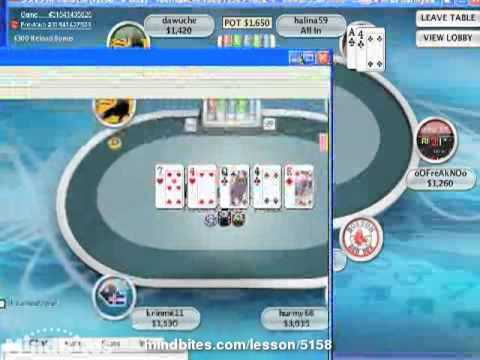 Texas Holdem-- 6 Man Sit and Go Strategy Part III