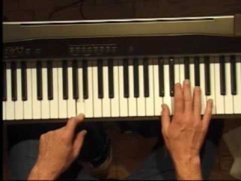 Piano Lesson - How to Play the A major scale (right hand)