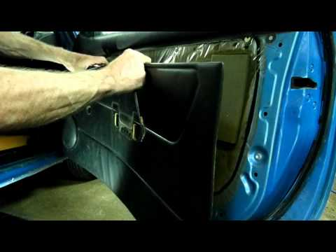 Toyota Door Panel Removal & Freeing Lock Linkage